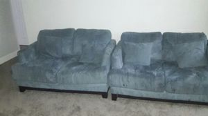 2 piece couch set must go by wednesday for Sale in Hyattsville, MD