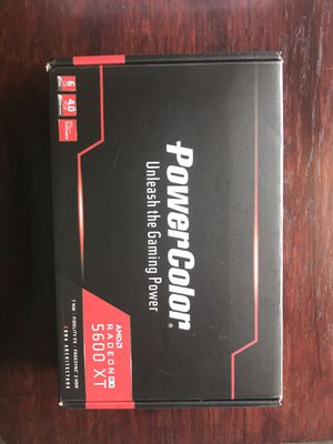 Powercolor RX 5600 XT 6GB GPU for Sale in Edinburg, TX