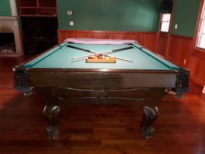 Regulation size pool table in good condition. for Sale in Phoenix, AZ
