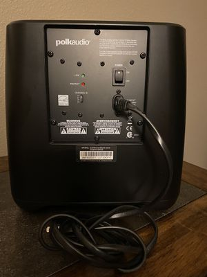 Polk Audio Subwoofer for Sale in Dallas, TX