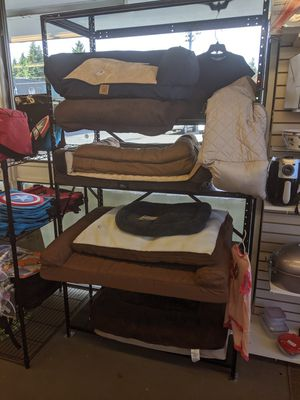 Beautiful brand-new dog beds of all sizes prices range from $7 to $45 for Sale in Vancouver, WA