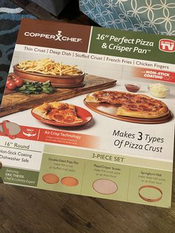 Copper Chef pizza pan for Sale in Midlothian,  TX