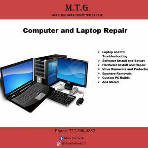 Computer and laptop repair! Custom pc builds for Sale in BELLEAIR BLF, FL