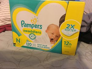 Unopened newborn diapers for Sale in San Diego, CA