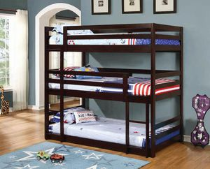 Triple Wood Bunk Bed...Brand New for Sale in Denver, CO