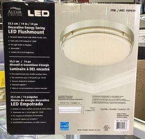 Energy Saving LED Flush-mount Ceiling Light Luz Altair Lighting 14'' for Sale in Miami, FL