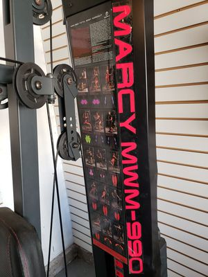 Marcy MWM-990 150lb Stack Home Gym for Sale in Escondido, CA