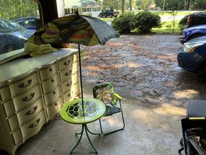 Teenage Ninja Turtle Patio with 1 Chair for Sale in Conyers, GA