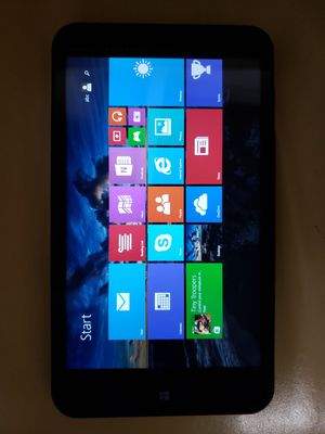 HP Stream 7 5709 32GB WIFI 7 INCH Intel Quad Core Slim Signature Edition Black Tablet for Sale in Capitol Heights, MD