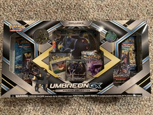 Pokemon Umbreon GX Premium Collection for Sale in Naperville, IL