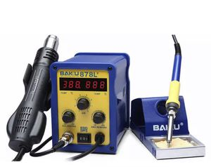 BAKU BK-878L2 700W 220V EU Plug 2 in 1 Rework Station Soldering Iron and Hot Air Gun for Sale in Miami, FL
