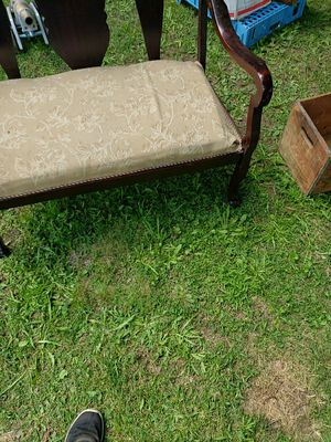 Antique beach mahogany with claw feet very nice for Sale in Guilford, ME