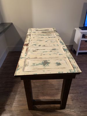 Handmade Rustic Dining Table for Sale in Houston, TX
