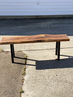 Red cherry slab bench for Sale in Chesapeake, VA