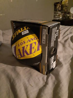New laker basketball for Sale in Los Angeles, CA