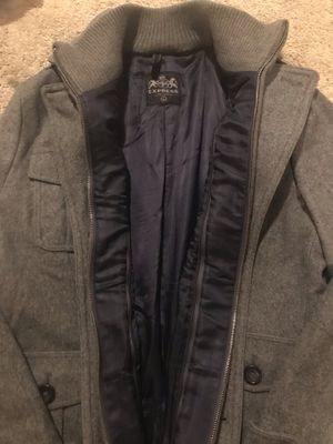 Large Men's Express Winter Peacoat for Sale in Minneapolis, MN