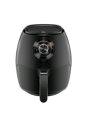 CHEFMAN - TurboFry 3.7qt/3.5L Analog Air Fryer - Black for Sale in Bakersfield, CA