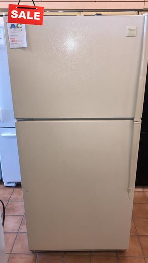 FIRST COME!!CONTACT TODAY! Refrigerator Fridge Whirlpool Top Freezer #1481 for Sale in Silver Spring, MD