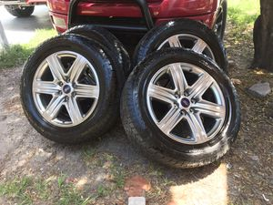 275/55/20 factory f150 rims with new honkook dynapro tires for Sale in Clearwater, FL