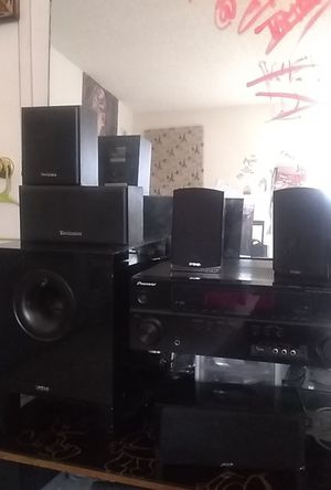 Pioneer Receiver Home stereo system for Sale in Fresno, CA