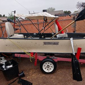 Porte Boat With Trailer for Sale in Surprise, AZ