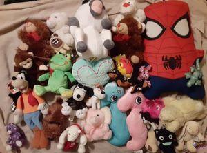 31 Stuffed Animals-Spiderman, Unicorn, Furby, Secret Life of Pets, & More for Sale in Mesa, AZ