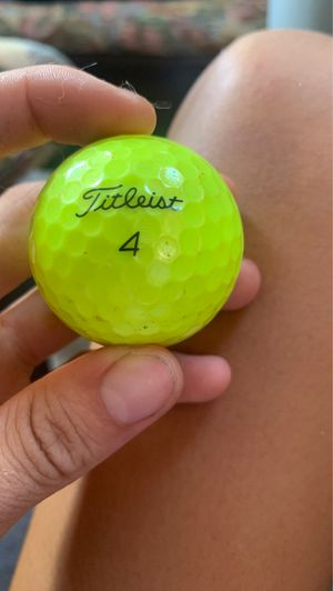 Titleist golf ball number 4 for Sale in Miami Beach, FL