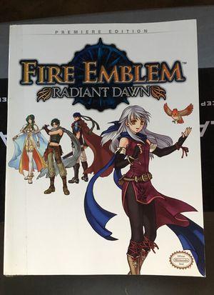 Fire emblem radiant dawn Nintendo Wii strategy guide for Sale in Everett, WA
