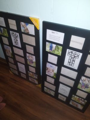 Two 20 opening collage large picture frames for Sale in Mead, WA
