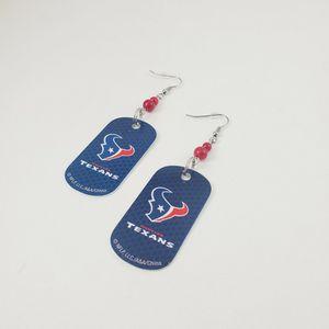 NFL Houston Texans Earrings Dangly Earrings for Sale in Las Vegas, NV