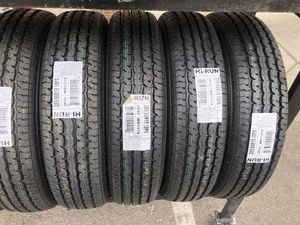 ST205/90R15 HI RUN TIRES MOUNT trailer tires for Sale in Las Vegas, NV
