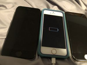 IPHONE 7 IPHONE 6S IPHONE 5 OLD PHONES DONT NEED ANYMORE for Sale in Naperville, IL