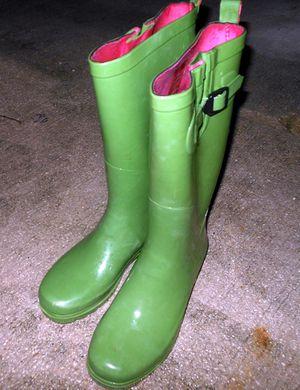 Capelli New York Rain Boots Green Women Size 8 for Sale in Miami, FL