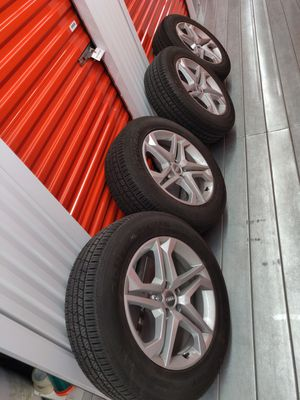 Audi Q5 Rims + Continental CROSSCONTACT SPORT 235/60R18 for Sale in Mountain View, CA