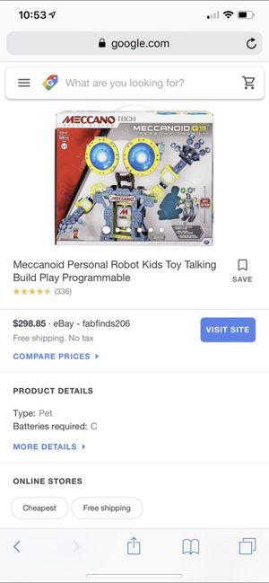 meccano robot 🥵‼️ for Sale in Lithonia, GA