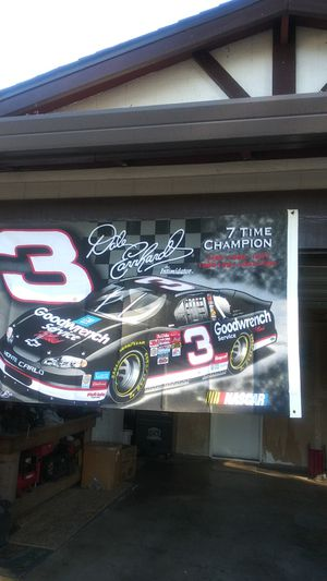 Dale Earnhardt banner for Sale in Sacramento, CA