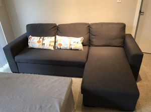 Grey sofa bed. for Sale in San Diego, CA