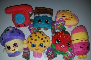Stuffed Shopkins Toys NEW! for Sale in Stuart, FL