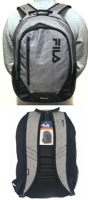 Brand NEW! Grey FILA Backpack For Everyday Use/Work/School/Traveling/Outdoors/Sports/Gym/Holiday Gifts for Sale in Carson, CA