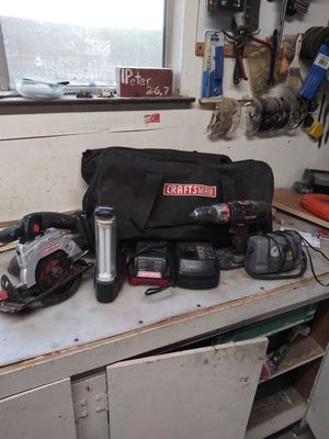 19.2v craftman cordless for Sale in Fresno, CA