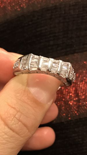 18K Gold Plated Engagement/Wedding Ring for Sale in Dallas, TX