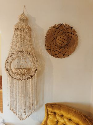 Beautiful bohemian shell plant holder for Sale in San Diego, CA