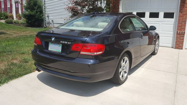 2007 BMW 3-Series 328xi All Wheel Drive Premium Package Coupe With Navi