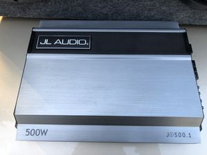 JL audio speaker n 500W amp $150 for Sale in Baltimore, MD
