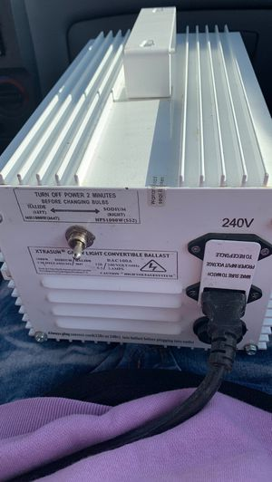 1000w grow light ballast for Sale in Lakewood, CO