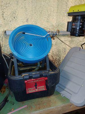 Gold spiral wheel, sluice, gold bug, pump for Sale in Golden, CO