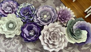 Hand made paper flowers for Sale in Orient, OH