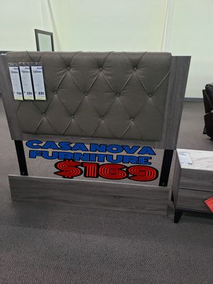 BRAND NEW BED FRAME QUEEN COMES IN BOX 📢📢📢📢📢📢AVAILABLE FOR SAME DAY DELIVERY OR PICK UP for Sale in Compton, CA
