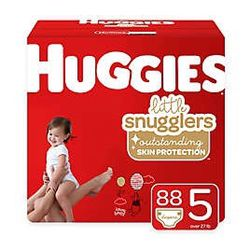 Huggies Diapers Size 5 (88) Diapers for Sale in Bellevue,  WA
