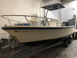 1979 19 ft Robalo CC with 150 johnson with trailer for Sale in Pompano Beach, FL